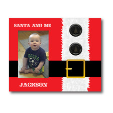 Personalized Santa Belly Picture Frame