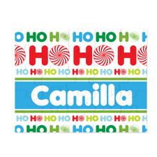Personalized Ho Ho Ho Christmas Puzzle New