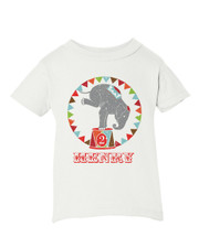 Personalized Vintage Circus Birthday T-Shirt New