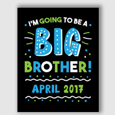 Printable Big Brother Announcement Sign