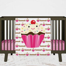 Personalized Cupcake Blanket for Baby and Toddlers