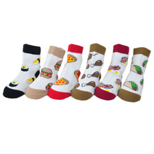 Me In Mind Let's Eat Baby Sock Set