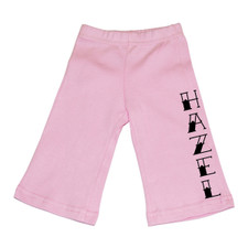 Personalized Pink Tattoo Baby Pants