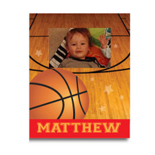 Double Dribble Basketball Picture Frame