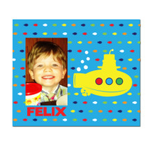Lil Yellow Sub Picture Frame Blue