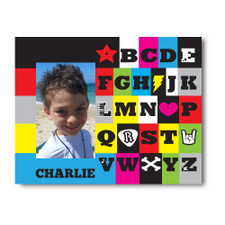 Rockin' ABCs Picture Frame