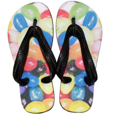 Eat 'Em Up Jelly Bean Flip Flops