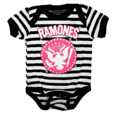 Striped Pinned Ramones One-Piece