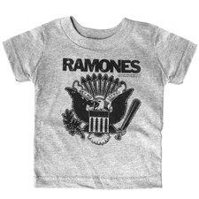 Ramones Hey Yo Kids Tee Gray