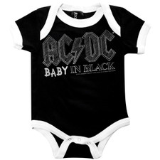 AC/DC Baby In Black One-Piece