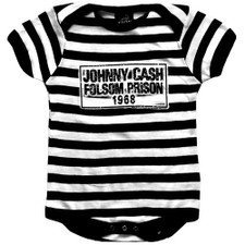 Johnny Cash Folsom Prison Stripes One-Piece