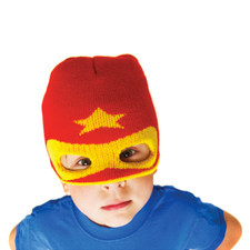 Super Hero Knit Beanie Red