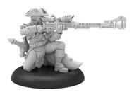 Warmachine: Cygnar - Arcane Tempest Rifleman Solo (metal)