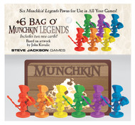 Steve Jackson Games: +6 Bag o' Munchkin Legends
