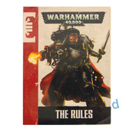 WARHAMMER 40K BITS: DEATHWATCH DEATH MASQUE - 7th EDITION MINI RULEBOOK