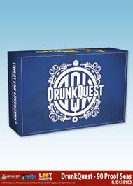 Soda Pop Miniatures: DrunkQuest: 90 Proof Seas