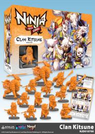 Soda Pop Miniatures: Ninja All-Stars: Clan Kitsune