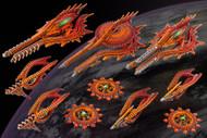 Dropfleet Commander: Shaltari Starter Fleet