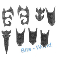 WARHAMMER BITS - DARK ELVES BLACK DRAGON - ARMOR PLATING