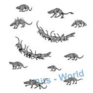 WARHAMMER BITS: SKAVEN DOOMWHEEL - RATS