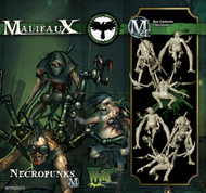 Malifaux: Resurrectionists - Necropunks (3 pack)