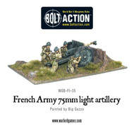 Bolt Action: France - Army 75mm Light Artillery