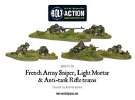Bolt Action: France - Army Sniper, Light Mortar & Anti-Tank Rifle Teams