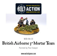 "Bolt Action: Great Britain - Airborne 3"" Mortar Team"