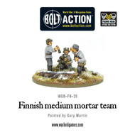 Bolt Action: Finland - Medium Mortar Team