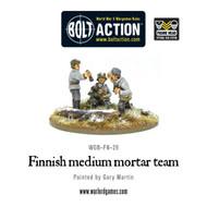 Bolt Action: Finland - Medium Mortar Team