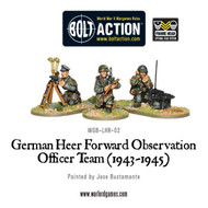 Bolt Action: Germany - Heer Forward Observation Officer Team (1943-45)