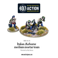 Bolt Action: Italy - Airborne Medium Mortar Team