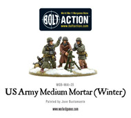 Bolt Action: USA - Army Medium Mortar (Winter)