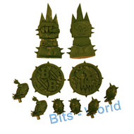 WARHAMMER BITS: BLOOD BOWL ORC TOKENS