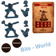 WARHAMMER BITS: BLOOD BOWL HUMAN THROWER x2