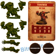 WARHAMMER BITS: BLOOD BOWL ORC THROWER x2