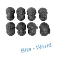 WARHAMMER 40K BITS: TYRANID NEOPHYTE HYBRIDS - 3RD GENERATION HEADS X8