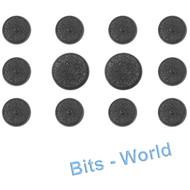 WARHAMMER 40K BITS: TYRANID NEOPHYTE HYBRIDS - 25MM ROUND BASES X10 & 32MM ROUND BASES X2