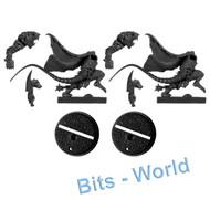 WARHAMMER BITS: BLOOD BOWL SKAVENBLIGHT SCRAMBLERS - GUTTER RUNNERS x2