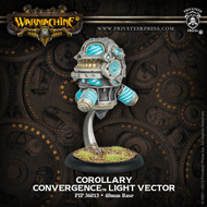 Warmachine: Convergence of Cyriss - Corollary Light Vector (White Metal and Resin)