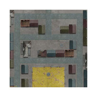 "Tanks: Caen Game Mat 36"" x 36"""