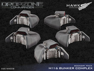 Dropzone Commander: Bunkers Scenery Pack