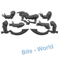 WARHAMMER 40K BITS: CHAOS SM EXALTED SORCERERS - POWER SWORDS/INFERNUS BOLT PISTOL/ARMS