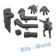 WARHAMMER BITS: ORCS & GOBLINS GARGANT - LEFT ARMS & HANDS