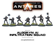 Beyond the Gates of Antares: Algoryn - AI Infiltration Team