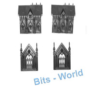 WARHAMMER/40K BITS -  GARDEN OF MORR - MAUSOLEUM WITH LAUREL ICON