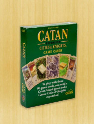 Catan: Cities & Knights Replacement Game Cards