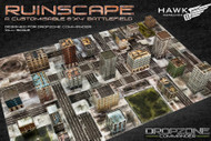 Dropzone Commander: Ruinscape: Card Scenery Set