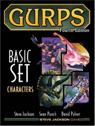 GURPS: Basic Set - Characters (4th Edition)