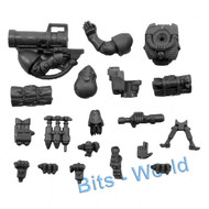 WARHAMMER 40K BITS: SPACE MARINES SCOUT SNIPER SQUAD - MISSILE LAUNCHER